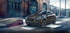 Cool BMW X6 in a cool image