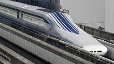 Japanse magneettrein verbreekt snelheidsrecord | NU - Het laatste nieuws het eerst op NU.nl