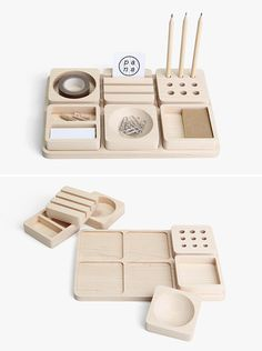 Pana objects, Tofu stationary set