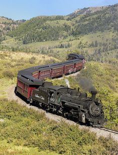 Cumbres Toltec Scenic Railroad (CTS) Locomotive 489 (Coxo) - How about a ride on this beauty? Train Car, Train Tracks, Railroad Pictures, Diesel, Railroad Photography, Train Pictures, Old Trains, Train Engines, Land Of Enchantment