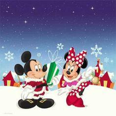 Christmas - Disney - Mickey & Minnie Mouse