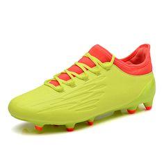 official photos e0110 4f82d FG Ankle Football Shoes Light Weight Flexibility Soccer Cleats Waterproof  Outdoor Football Boots Botas De Futbol