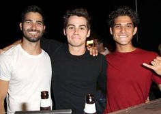 Tyler Hoechlin, Dylan O'Brien and Tyler Posey