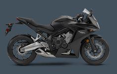 2015 CBR650F Matte Black Metallic