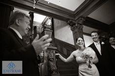 Grand Entrance | Loose Mansion | KC Weddings | Solar Photography