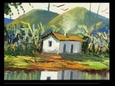 O Artista Plástico de renome internacional W. Mariano ensina pintar passo a passo. Espaço de Arte W. Mariano waldirmariano@hotmail.com www.wmariano.cjb.net