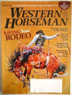 WESTERN HORSEMAN Horse Riding Mag Nov 2011 Rodeos Cowboys Turtle Bits NEW