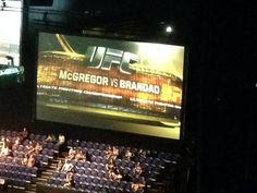 UFC Dublin, Ireland. McGregor vs Brandao