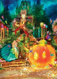 Masterpieces Classic Fairy Tale Cinderella Jigsaw Puzzle - 1000 pc