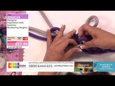 Climbing Cord Designs - JewelleryMaker DI LIVE - 13/07/15 - YouTube