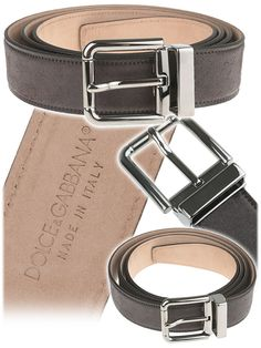 Dolce & Gabbana Mens Belts