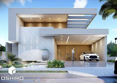 Dream House Interior, Dream Home Design, Villa Design, Facade Design, Minimalist House Design, Modern House Design, Indian House Plans, Bungalow House Design, Modern Mansion