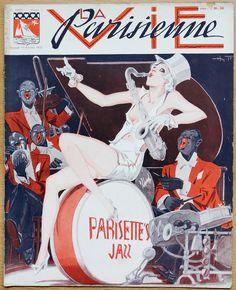 Henry Fournier. Parisettes Jazz. La Vie Parisienne, 13 Février 1932. [Pinned 31-v-2016]