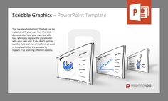 #ScribbleGraphics, Icons and #sketches for PowerPoint. #presentationload  www.presentationload.com/scribble-graphics.html