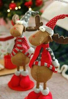 Christmas Hearts, Office Christmas, Christmas Mom, Christmas Sewing, Christmas Projects, Christmas Ornaments, Handmade Angels, Handmade Christmas Decorations, Creations