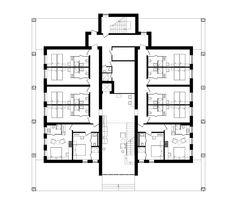 Imagem 21 de 24 da galeria de Hotel no Parque Verholy / YOD design studio. Planta Baixa