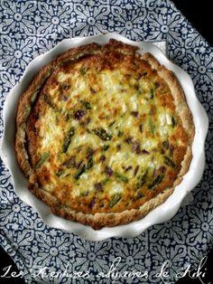 Les Aventures culinaires de Kiki: Tarte à la ricotta, aux asperges et au fromage feta