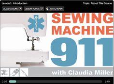 Online Sewing tutorials