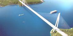 Ulaştırma Bakanı Yıldırım, 3. Köprü'nün son tabliyesinin pazar günü konulacağını açıkladı. Kanal İst...