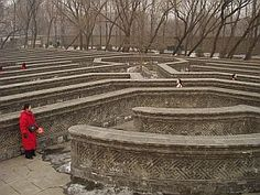 Stone Maze in Beijing's Summer Palace, China