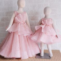 Slide into our DM to purchase this pretty little dress for your . Gowns For Girls, Little Dresses, Little Girl Dresses, Girls Dresses, Flower Girl Dresses, Pretty Little Dress, Dress Anak, Baby Dress Design, Kids Gown