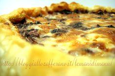 Torta salata di radicchio e taleggio Ricetta torta rustica Le Mani Di Manu