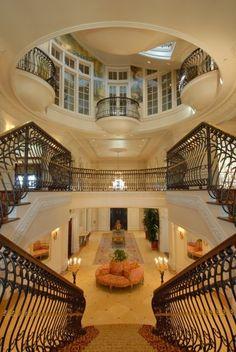 big foyer