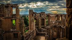 Kenilworth Castle, in Warwickshire