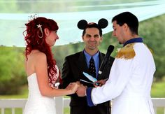 from: Seriously the BEST Disney Wedding We Have EVER Seen   The Knot Blog – Wedding Dresses, Shoes, & Hairstyle News & Ideas