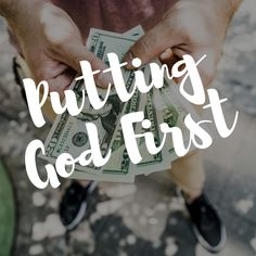 Putting God First: Trusting Him with Your Finances