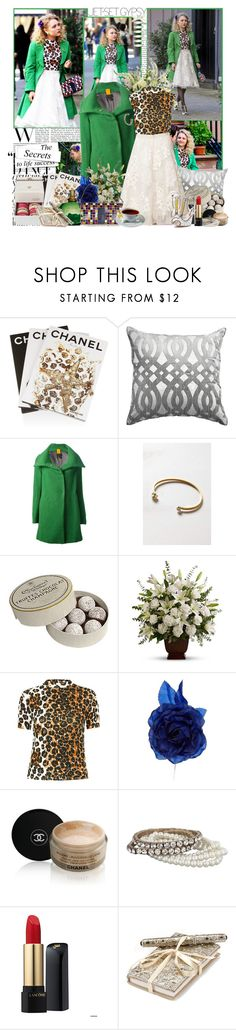 """""""The Carrie Diaries"""" by elenadobrev90 ❤ liked on Polyvore featuring Assouline Publishing, Bandhini Homewear Design, Michele Rossi, ELOISE, John Lewis, Topshop, Chanel, Oasis, Lancôme and Monsoon"""