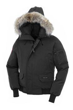 BLOUSON CHILLIWACK Arctique, Canadien, Homme Noir, Brousse, Haute Couture,  Veste, 81aee1428b5