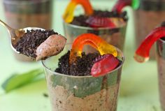 I've always loved Worms in Dirt pudding! I think I'll make it for myself and fiance. Who says you have to have kids for food like this?