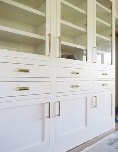 Rocky Mountain Hardware cabinet pulls featured in the Coco Kelley kitchen remodel