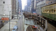 In 1968 you could open the windows on a CTA train. (Photograph: David Wilson/flickr)