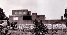 Erich Wolf House, Guben, Germany (now Poland) Ludwig Mies VAN DER ROHE, 1926