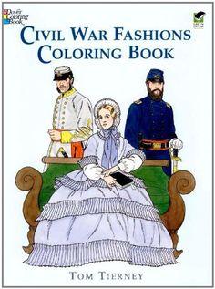 Civil War coloring book- Tom Tierney