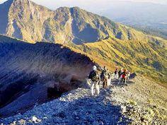 Trekking Mount (Gunung) Rinjani, Lombok,Indonesia