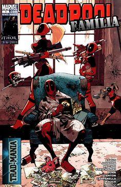 HQBR - Família Deadpool - Único
