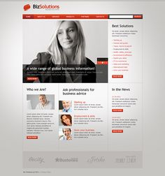 Fashion school joomla template joomla templates pinterest business solutions joomla template by html5 web templates cheaphphosting Choice Image