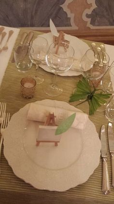 table setting elisa zardo interior & events designer @ CastelBrando