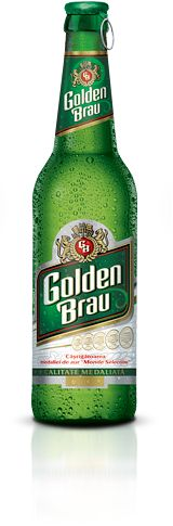 Golden Brau is a beer with a clear aspect and a pleasant, fine and mildly bitter taste. It has 5% alcohol content and 11.2 º P gravity.