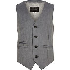 Boys light grey slim suit jacket - suit jackets - suits - boys