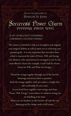 Power Charm Spell