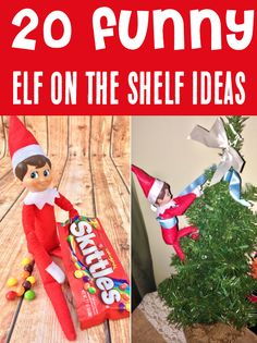 Funny Elf on the Shelf Ideas for Kids! If you're looking for quick and easy Elf on the Shelf ideas to downright hilarious hiding spots, it's time to get inspired with this BIG list of creative tips straight from the North Pole! Have you tried any of these yet?? Christmas Drinks, All Things Christmas, Dorm Decorations, Christmas Decorations, Girls Bedroom, Bedroom Ideas, Life Hacks Every Girl Should Know, Living Room Decor On A Budget, Hiding Spots