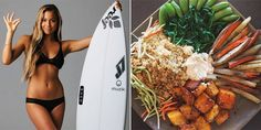 10 Commandments Of Healthy Eating, According To Pro Surfer Tia Blanco:  Eat like an athlete, look like an athlete.