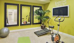 Exercise and get fit in this lovely #home #gym. Check more at www.connecticutforsale.com