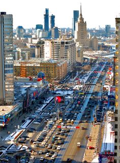 The City of Billionaires   Moscow and One of the Seven Sisters