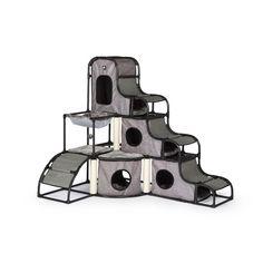 "Prevue Hendryx 56"" Catville Tower Cat Condo & Reviews | Wayfair"