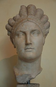 Portrait of Salonina Matidia (Sabina's Mother and niece of Trajan), from Luni, c. 119 AD, Musei Capitolini, Rome